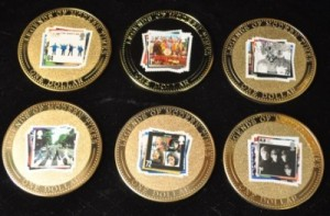 beatles stamp collection