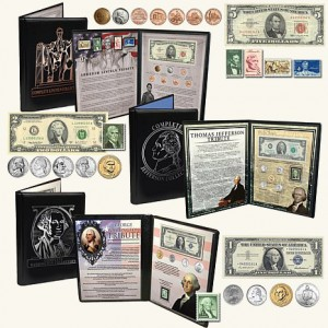 Coin and Stamp Collections